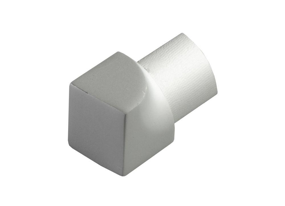 Innenecke Edelstahl V2A geb/ürstet Viertelkreis 10 mm